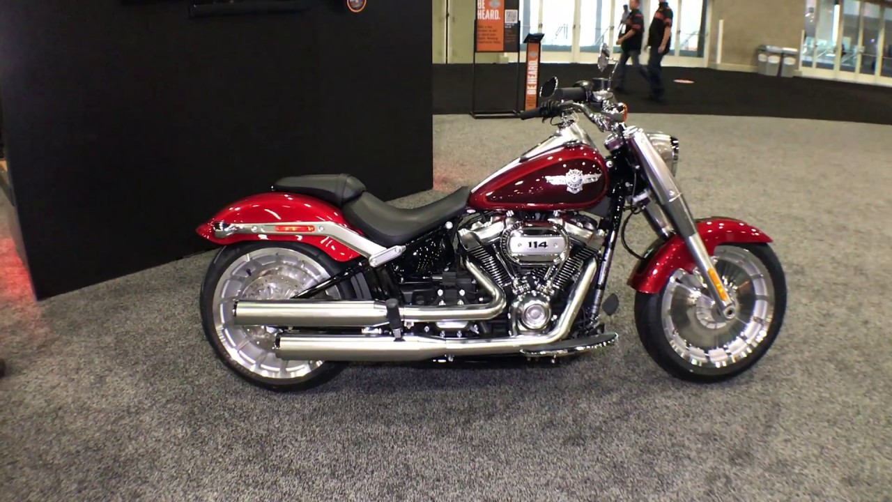 2018 harley davidson softail fat boy wicked red twisted cherry youtube. Black Bedroom Furniture Sets. Home Design Ideas
