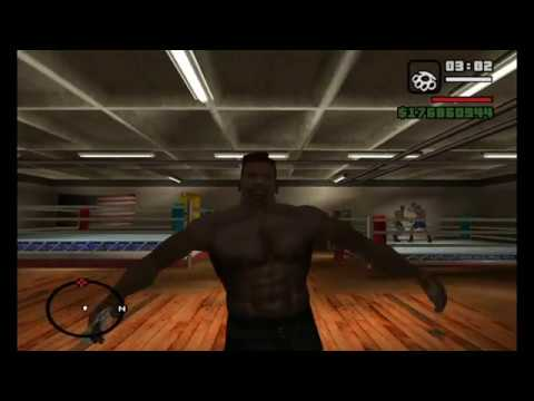 Gta San Andreas - CJ Body Transformation From Skinny To Muscle In 6 Days !