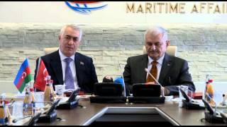 Binali Yıldırım - Azerbaycan heyeti ile toplantı
