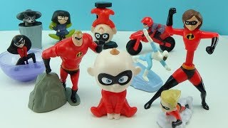 INCREDIBLES 2 MCDONALD'S 2018 HAPPY MEAL TOY COLLECTION