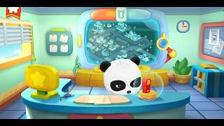 Babybus games | baby panda police | teach baby life skills preschool learning for child