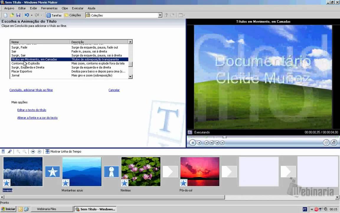 efeitos de video para movie maker 2.6