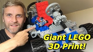 Giant LEGO Go-Kart 3D PRINT Build [Kit 1972] - Mantis Hacks E8