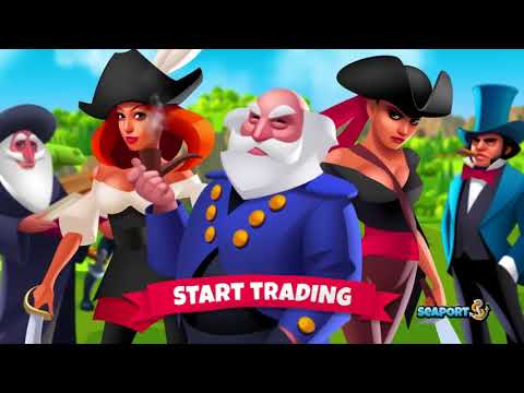 Seaport - Explore, Collect & Trade Gameplay Trailer on GplayG