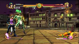 jojo s bizarre adventure all star battle jotaro kujo vs dio 720 hd