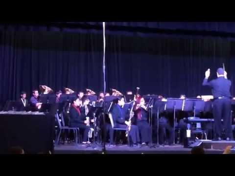 "Haltom Middle School Honors Band ""Frozen"""
