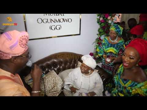 K1 DE ULTIMATE FREESTYLING FOR THE 90TH BIRTHDAY OF MADAM MUIBAT OGUNMOWO [GG] IN LAGOS