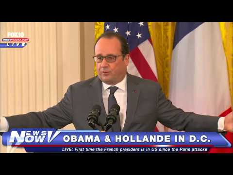FNN: President Obama and French President Francois Hollande in D.C.