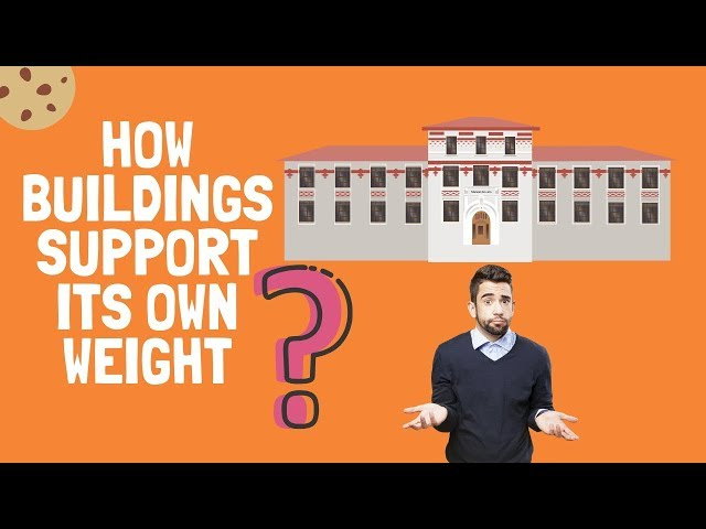 How a Building Supports its own Weight? Why Buildings Stays UP?