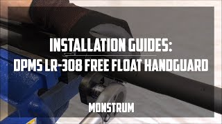 DPMS LR-308 Free Float Quad Rail Complete Install Guide