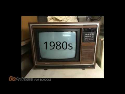 Television Through The Years (1910s - 2010s)