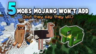 5 Mobs that Mojang has CONFIRMED are Coming (But Really They're Not)