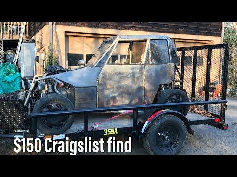 Craigslist Find: $150 Suzuki VX800 Go Kart/Buggy - YouTube