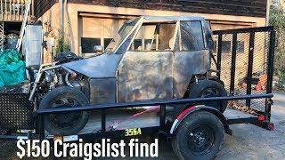 Craigslist Find: $150 Suzuki VX800 Go Kart/Buggy