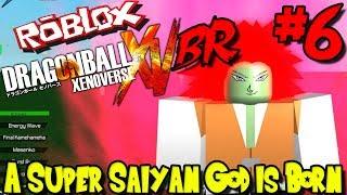 A SUPER SAIYAN GOD IS BORN! | Roblox: Dragon Ball Xenoverse BR - Episode 6