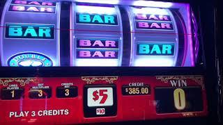 2X 5X 10X Frenzy - $25 Double Top Dollar - Pinball High Limit Slot Play