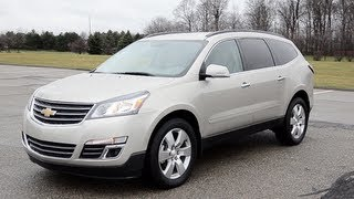 2013 Chevrolet Traverse AWD LTZ - WR TV POV Test Drive