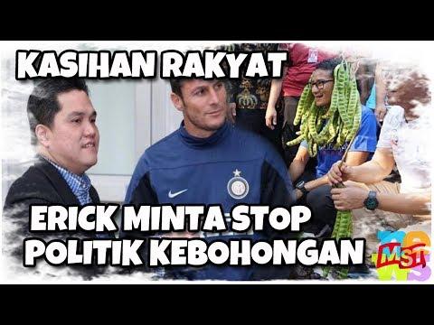 Teman Sandiaga Uno Meminta Stop Politik Kebohongan Karena Merugikan Rakyat