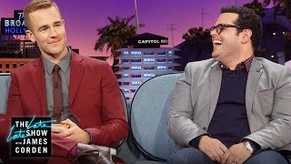 James Van Der Beek and Josh Gad Trade First Kiss Stories