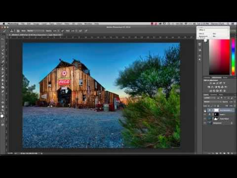 Post Processing - Nelson Nevada Ghost Town Image