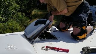 Replacing And Resealing RV Roof Vents