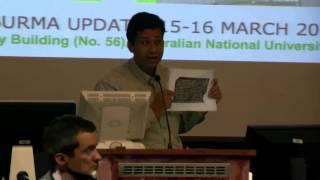 mr htay lwin oo speech in anu on rohingya history
