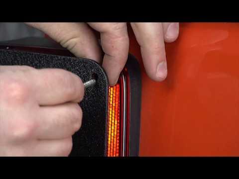 FB31043 JK Wrangler Tail Light Covers Installation Guide