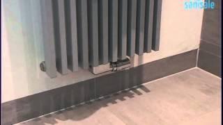 Thermic - Design ventielset haaks met thermostaatknop