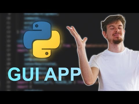 Build A Python GUI App Tutorial