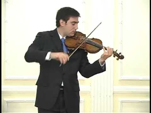 Bach Chaconne in D Minor
