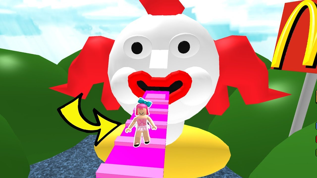 roblox  escape mcdonalds obby