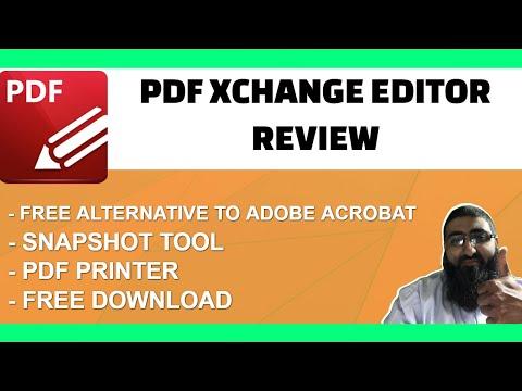 PDF Xchange Editor Review Free Adobe Acrobat Alternative thumbnail