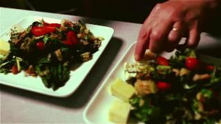 Asparagus Salad With Tomato Vinaigrette