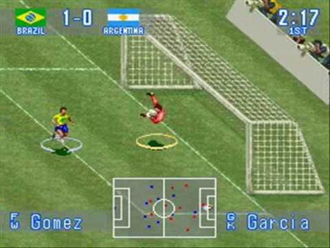 International Superstar Soccer (SNES) - Brazil Vs Argentina (Exhibition Game) - First Half