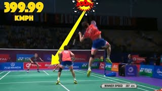 20 Fastest SMASHES in Badminton