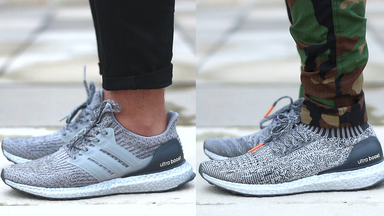 Adidas Ultraboost Caged Vs Uncaged Comparison Youtube