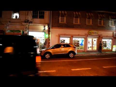Melville Street St George's Grenada at Night