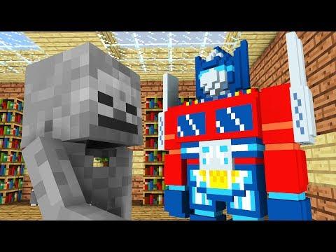 Monster School: Transformers -- Cubic Minecraft Animation