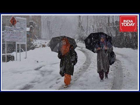 Jammu & Kashmir Witness Heavy Snowfall