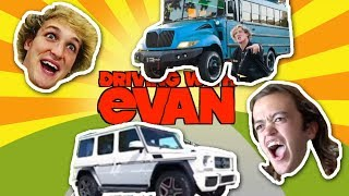Driving with Evan in the COOLBUS + YETI