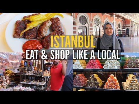 Istanbul Spice Bazaar, Coppersmith | Turkish Kofta | Candy Baklava Shops