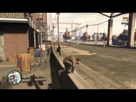 GTA IV Cops 'n' Crooks: Escape to Acter Industrial Park (Glo