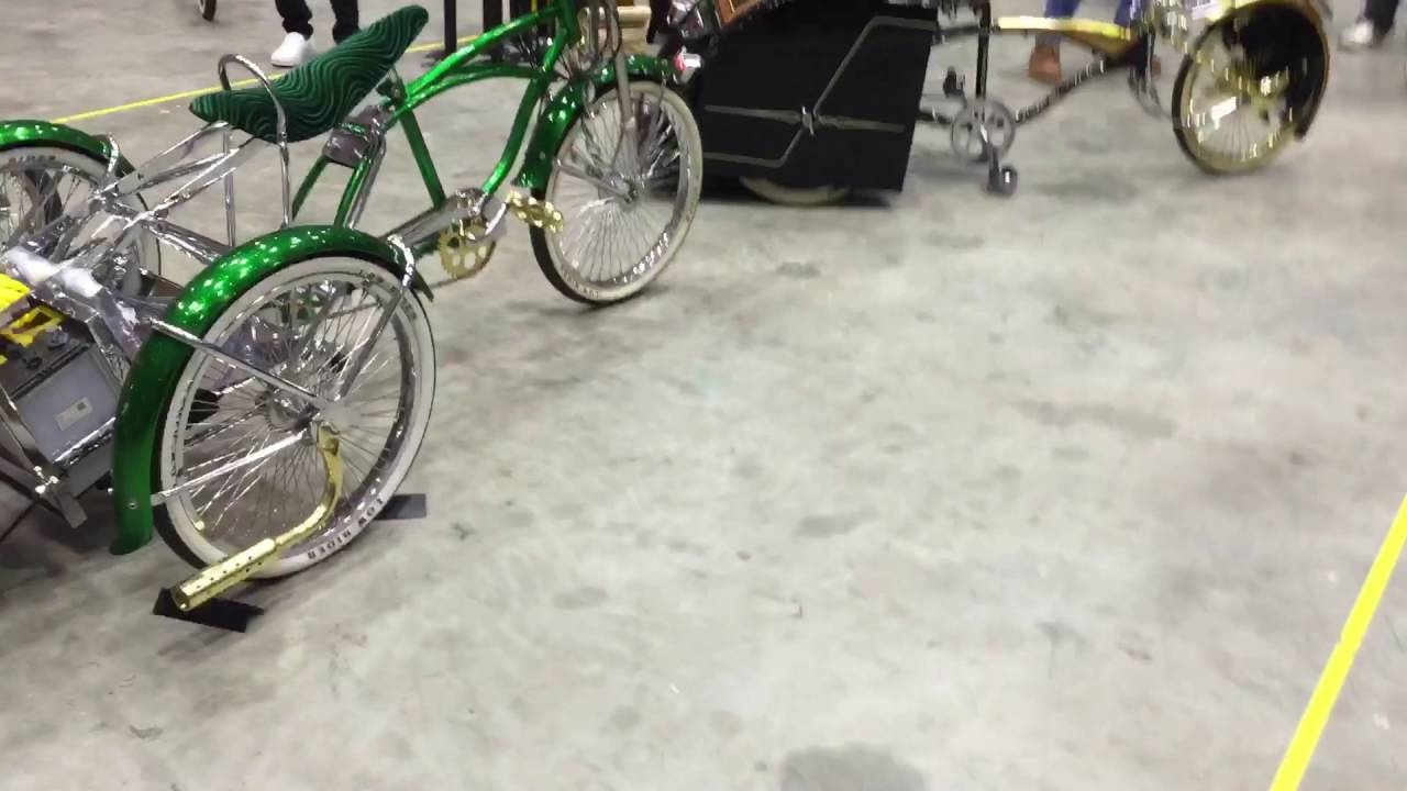 Lowrider bicycle hydraulic - YouTube