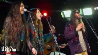 "Crystal Fighters ""LA Calling"" Live Acoustic Performance"