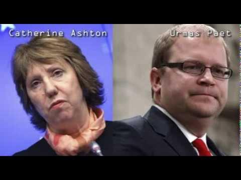 Ukrajina - Catherine Ashton i Urmas Paet o snajperima