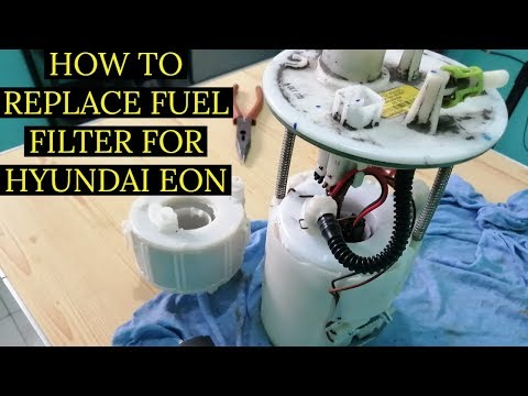 DIY: HOW TO REPLACE FUEL FILTER FOR HYUNDAI EON