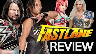 WWE Fastlane 2018 PPV Results and Reactions ft. AJ Styles