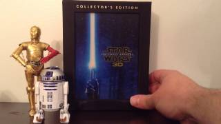 Darth's Haul: Star Wars - The Force Awakens Collector's Edition 3-D Blu-Ray