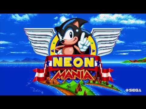 Neon The Hedgehog Mania - Sonic Mania Mod Custom Soundtrack