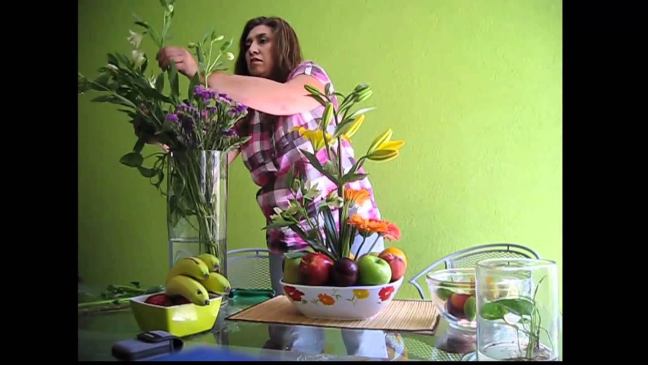 Como Hacer Un Arreglo Floral Frutal Con Base Boquilla Amplia Variedad De Colores